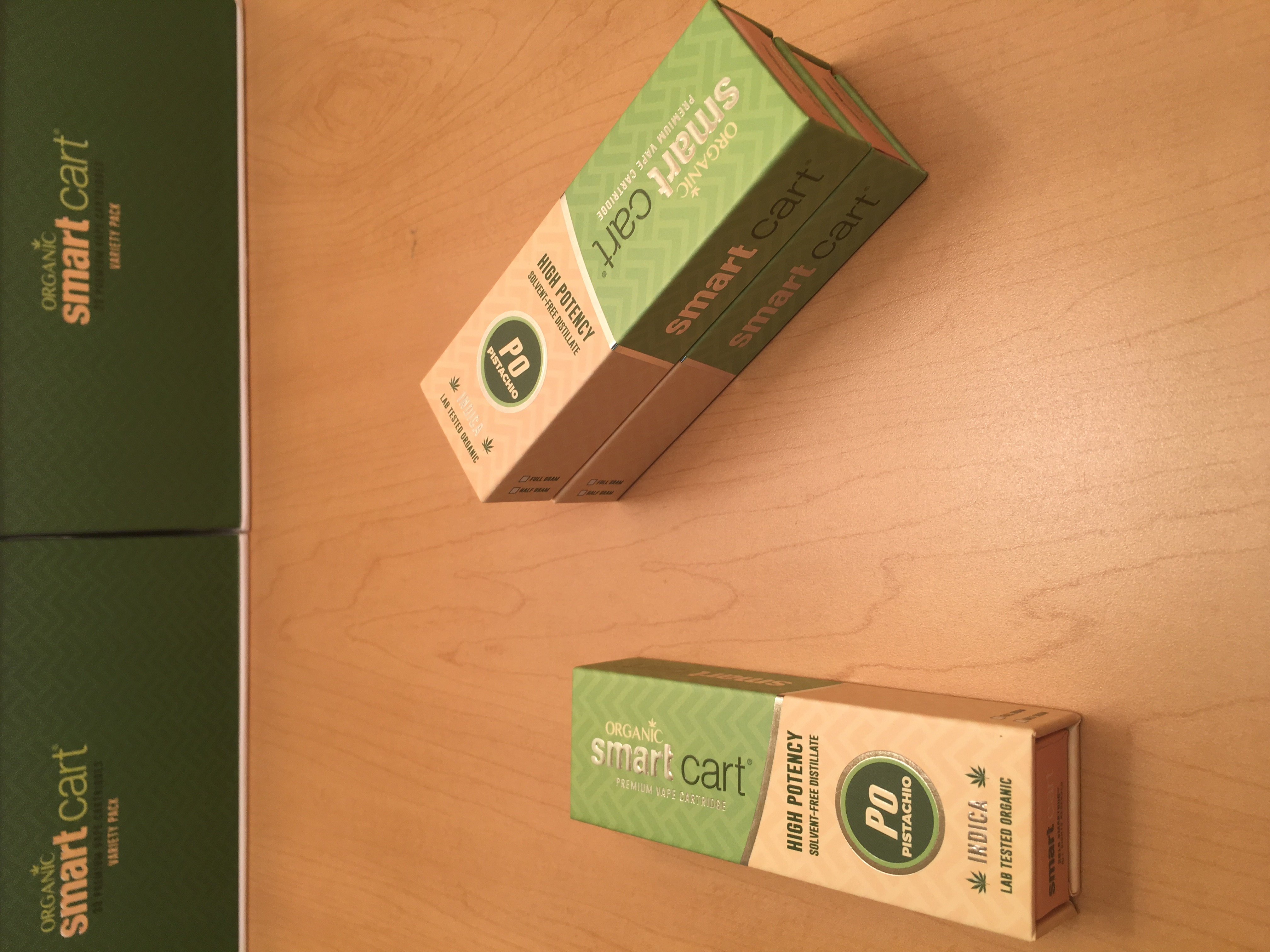 SmartCart 1G Vape Cart - Pistachio | Cannabis Menus By Rare Harvest